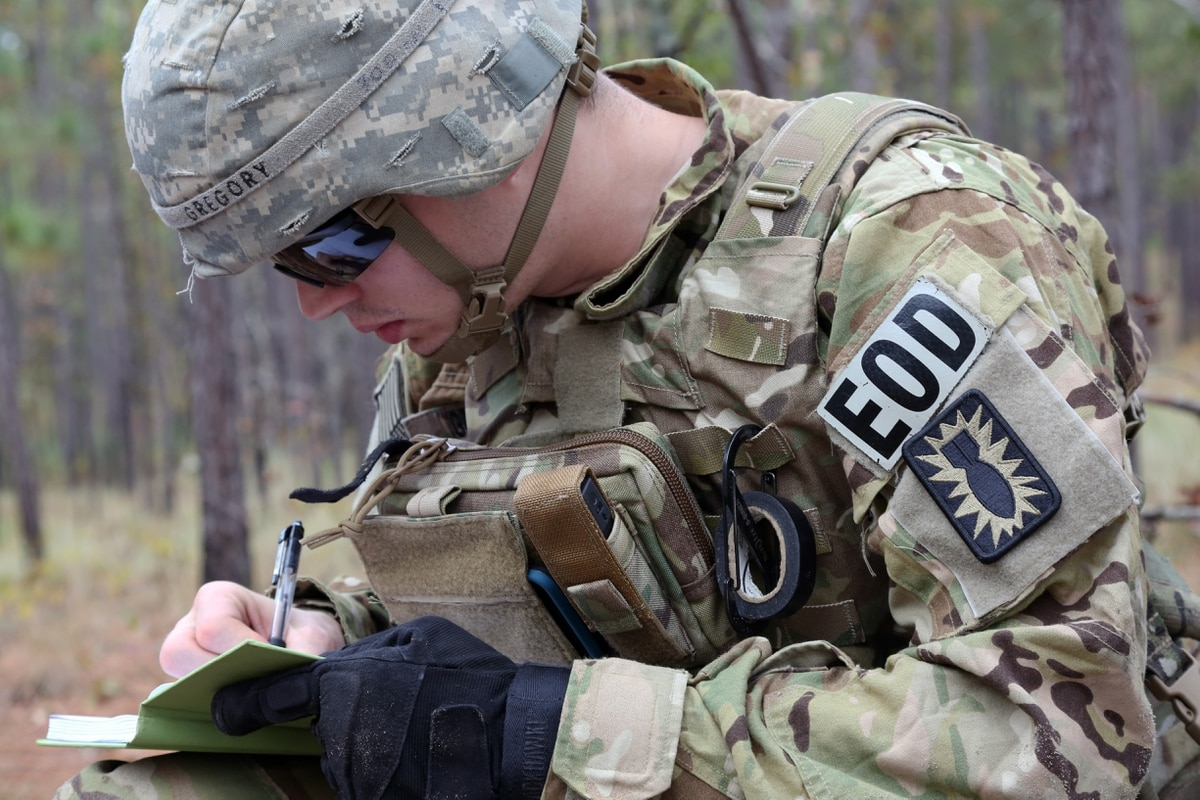 Army EOD can now wear their patch full-time, a move that