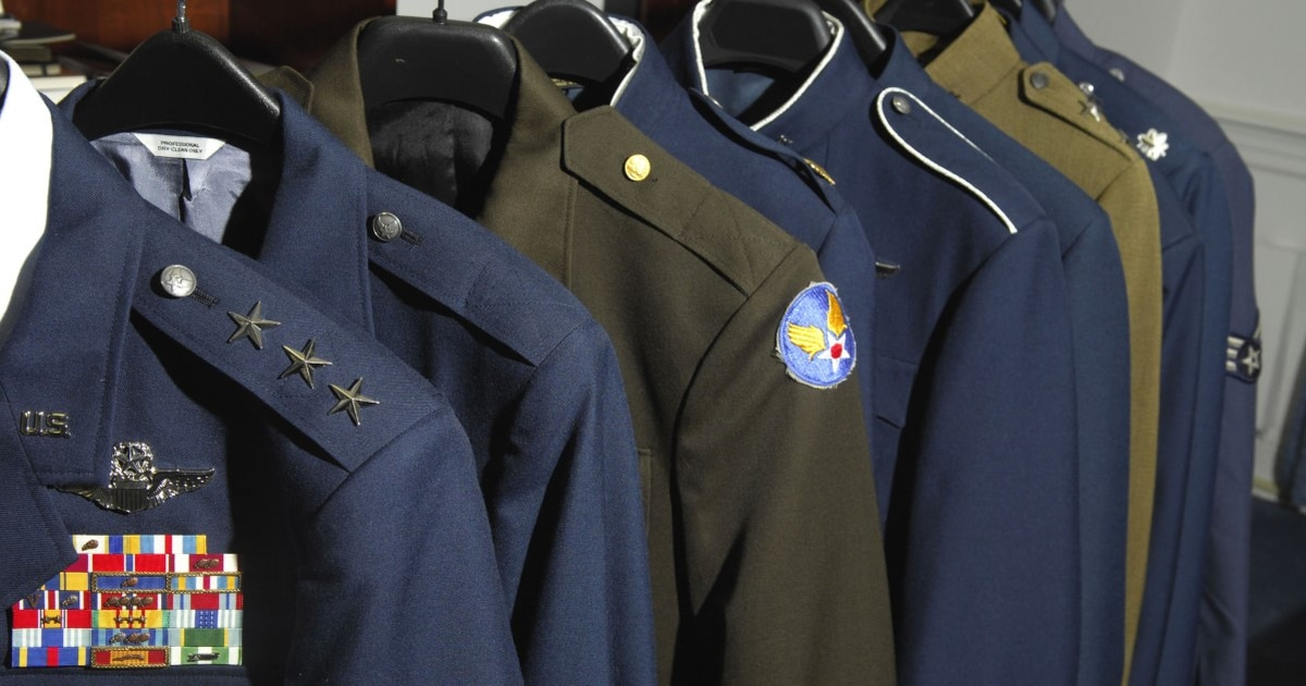 The Air Force is working on a new dress blues uniform — and