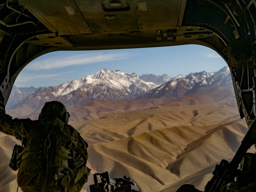 The Pentagon's budget for operations in Afghanistan continues to trend downward. (Master Sgt. Alex Licea/Army)