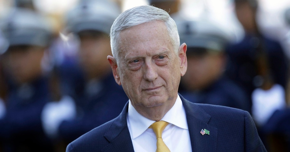 'You're not some p-ssy sitting on the sidelines' & other Mattis-isms: Secretary of Defense edition