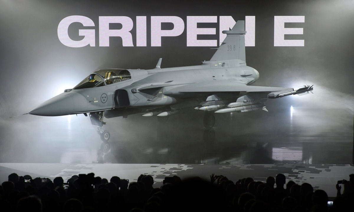 Saab's Gripen is out of the running in Swiss aircraft race