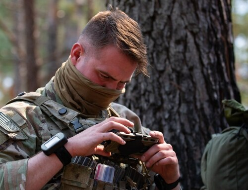 1st Brigade Combat Team, 82nd Airborne Division conducted an exercise using new and modernized network equipment, giving the Army critical feedback before fielding to more units this year. (Sgt. 1st Class Zach VanDyke/U.S. Army)