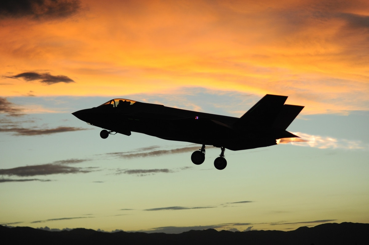 the f 35 is so stealthy it produced training challenges pilot says