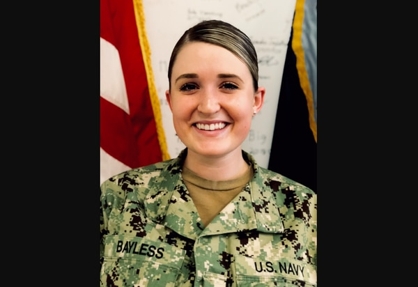 Yeoman 3rd Class Maegan Bayless submitted a complaint against her enlisted leaders last year alleging on-the-job drug and alcohol abuse. Then her command tried to kick her off active duty. (Photo courtesy Maegan Bayless)