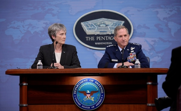 Chief of Staff Gen. Dave Goldfein wants Ned Stark to join him and Secretary Heather Wilson for a complete re-examination of the Air Force's officer promotion system. (Staff Sgt. Rusty Frank/Air Force)