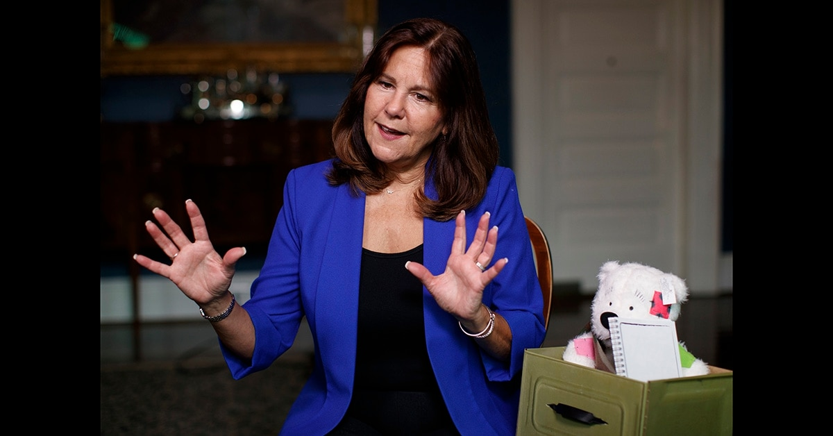 Karen Pence opens campaign to help support military spouses
