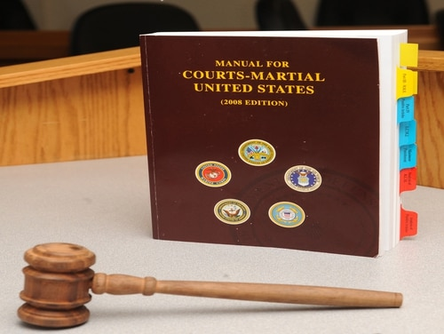 Sgt. Maj. Quincy Martin was convicted of abusive sexual contact, maltreatment of subordinates and other charges during an April court-martial at Fort Stewart, Georgia. (Whitney Lambert/DoD)