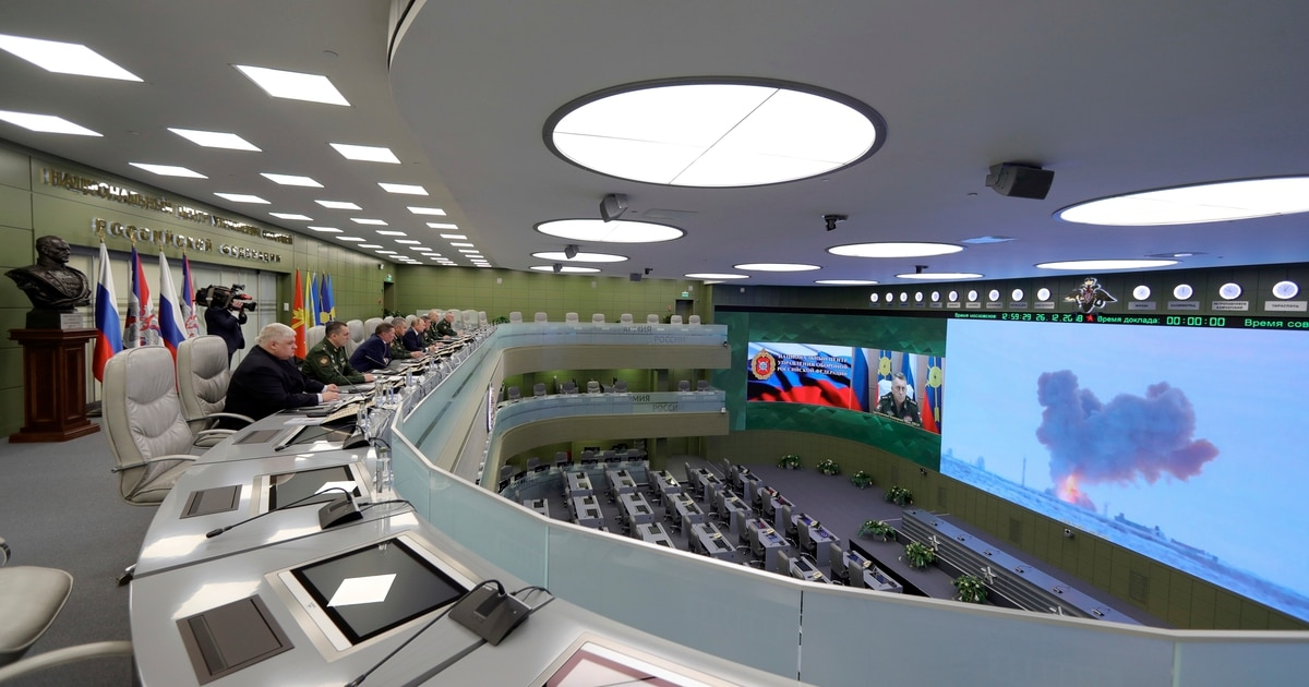 Russia says its new weapon is 27 times faster than the speed