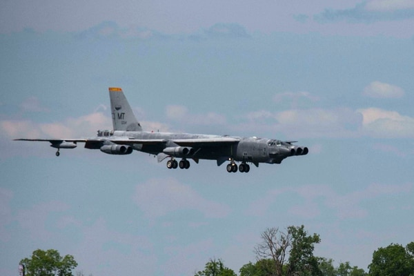 A B-52 Stratofortress, nicknamed