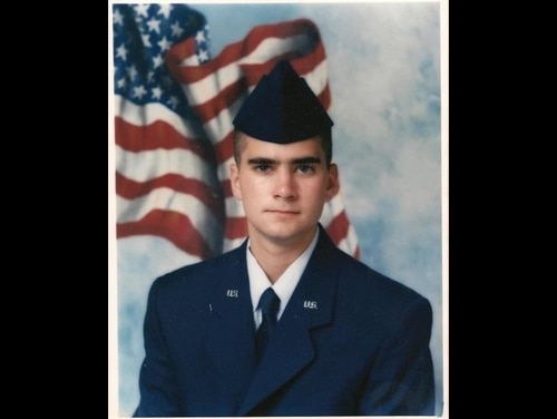 Brian Sicknick, the Capitol Police officer who died Jan. 7 after being injured while confronting rioters at the Capitol, was formerly a staff sergeant with the New Jersey Air National Guard. He is shown here in a photo from his basic training in 1997. (New Jersey National Guard)