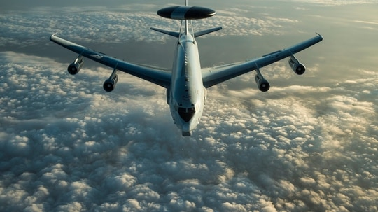 The 552nd Maintenance Group, which repairs E-3 Sentry AWACS aircraft at Tinker Air Force Base, temporarily impounded two aircraft after several tools were lost. The incidents led Tinker to tighten its rules on who can check out which tools. (Tech. Sgt. Gregory Brook/U.S. Air Force)