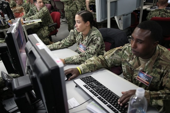 Cyber Command is evaluating its success based upon certain outcomes and how it can enable partners. (Photos provided by U.S. Cyber Command Public Affairs)