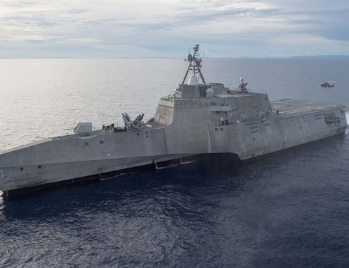 The littoral combat ship Coronado, only six years in service, is on the chopping block to be decommissioned, the U.S. Navy announced. (U.S. Navy)