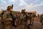 Trust in the military is dropping significantly, new survey suggests