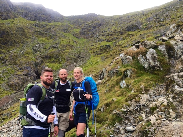 Marine veteran Kirstie Ennis is walking across Britain in tribute to her fallen comrades Ð with some help from Prince Harry along the way.
