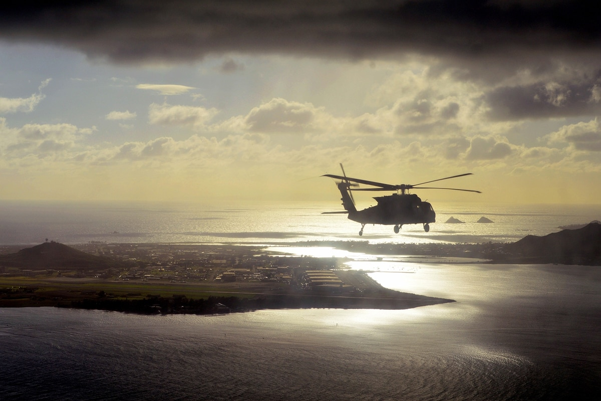 Coast Guard searches for Army helicopter reported down off Hawaii