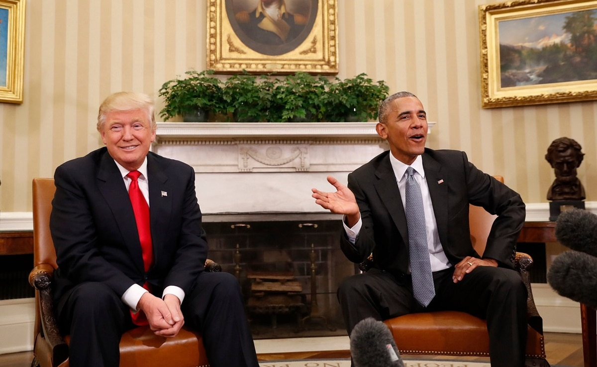 'I'll never forgive him for what he did to our military' — Trump fires back at Obamas over comments in Michelle's new book