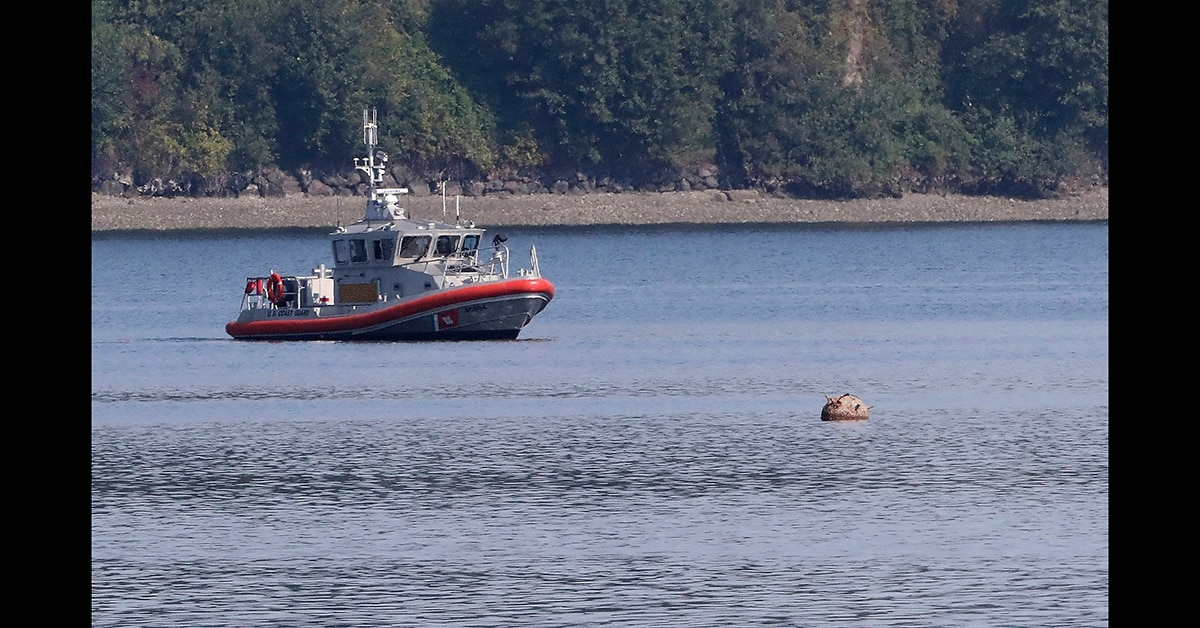 Decades-old sea mine detonated in Puget Sound, Wash