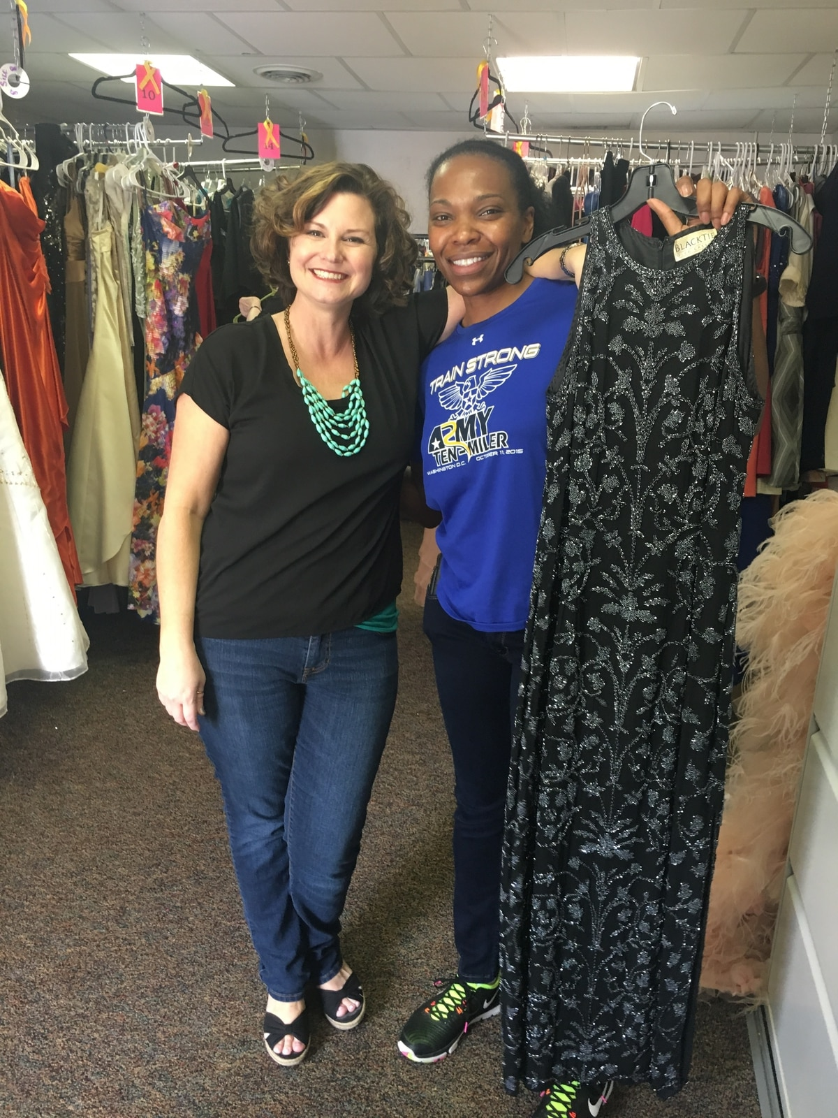 New charity offers ball gowns to military families — for free