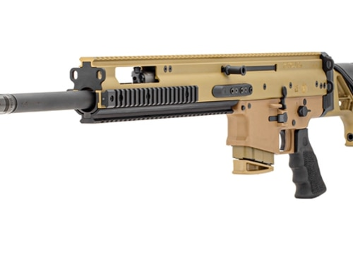 FN's new 6.5 Creedmoor SCAR 20s precision weapon system.