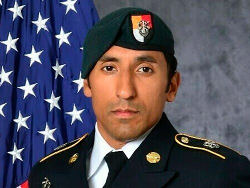 Staff Sgt. Logan Melgar was found dead of strangulation on June 4, 2017, in housing he shared with three other special operations forces personnel in Bamako, Mali. (U.S. Army via AP)
