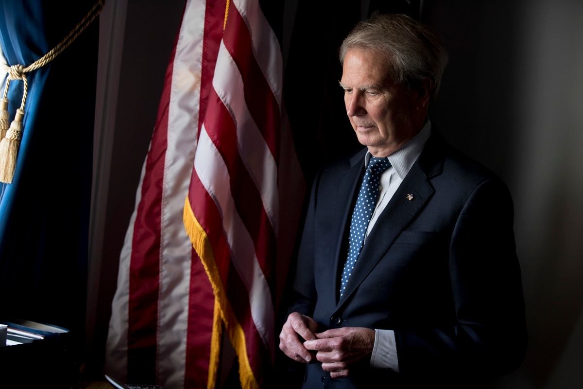 Rep. Walter Jones, a military advocate who later opposed Iraq War