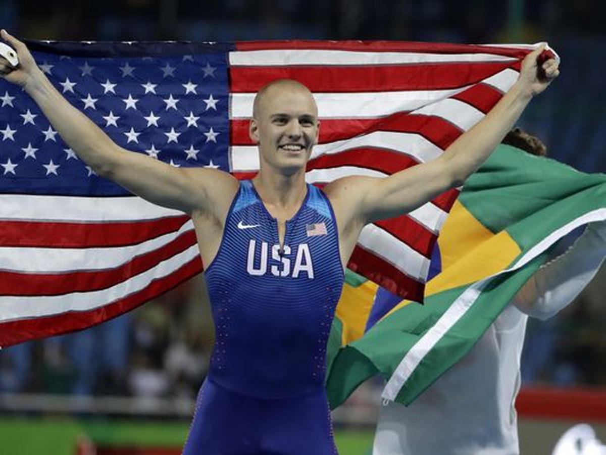 Army 2nd Lt Sam Kendricks Claims Bronze In Rio Pole Vault