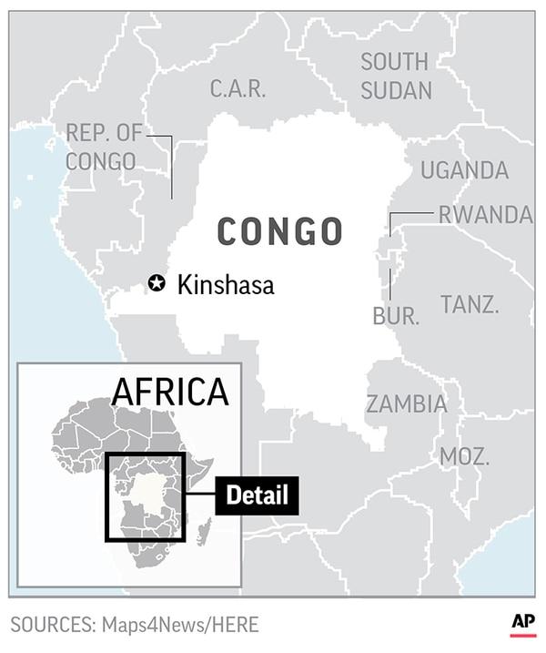 Congo delays announcing results of presidential election.