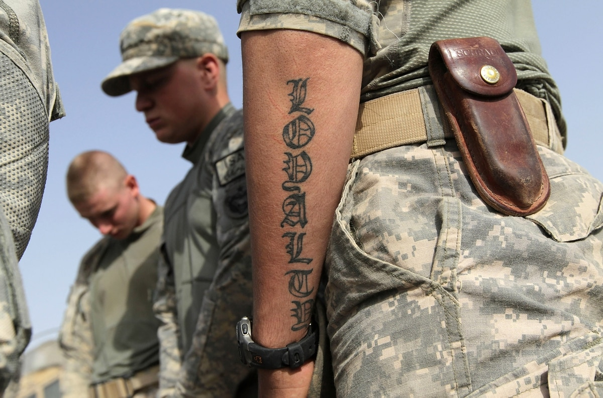 Army announces big changes to the tattoo policy for Army officer tattoo policy