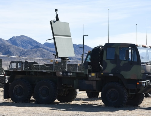 On the ground at Nellis Air Force Base, Nevada, battle manager crews from the 729th Air Control Squadron working in a Control and Reporting Center are engaged in directing the airspace for Red Flag 20-1 on Feb. 5, 2020. (2nd Lt. Ashlyn Paulson/U.S. Air Force)