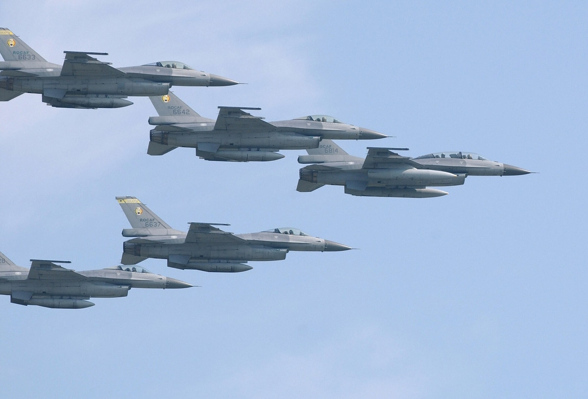 Taiwan takes delivery of first locally upgraded F-16