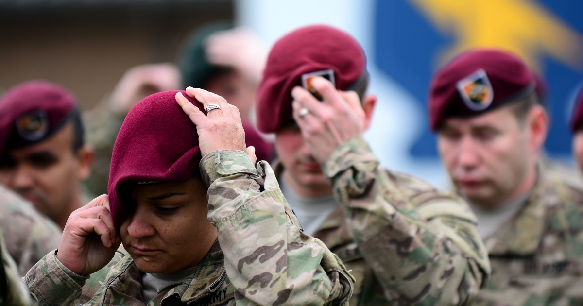 b7f59532fca2 Earning it: A complete history of Army berets and who's allowed to wear them