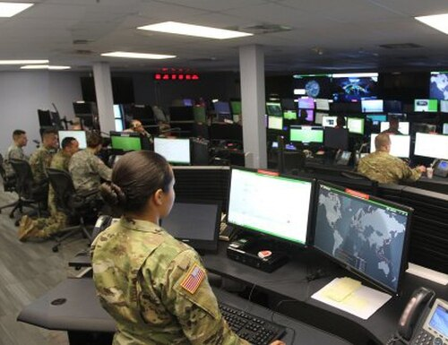 The architects of the next generation Army tactical network are looking to the high end cyber defenders for assistance in designing the future network. (Photo Credit: U.S. Army photo by Steve Stover)