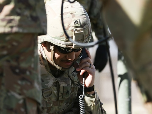The Army is beginning to look at its network for 2023 and 2025. (Spc. Calab Franklin/Army)