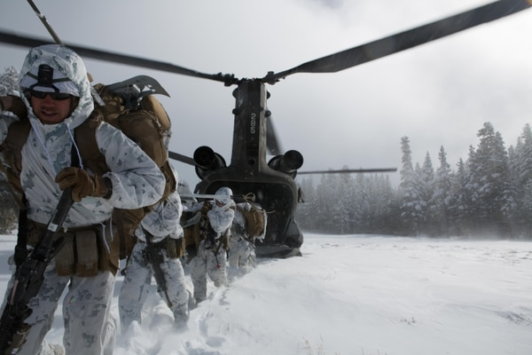 The extreme cold in Russian and North Korea is a nightmare for tactical planners. (Lance Cpl Cesar N Contreras/Marine Corps)