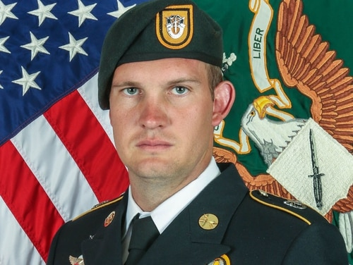 Sgt. 1st Class Dustin Ard, 31, was killed in Afghanistan Aug. 29, 2019. He was a member of the Army's 1st Special Forces Group.