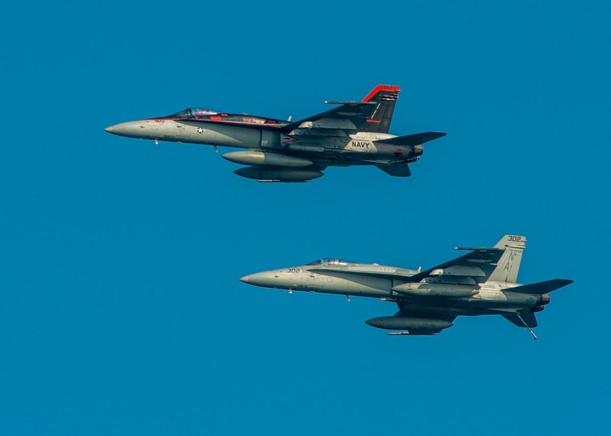World Events, F-35 Delays Drive Hornet Push