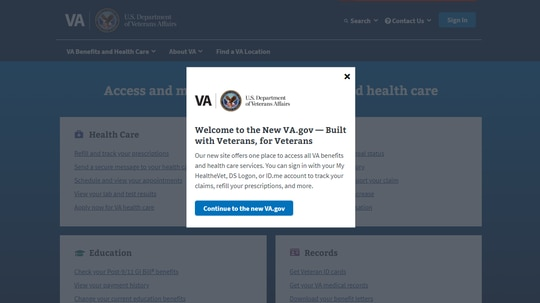 A team at the Department of Veterans Affairs and U.S. Digital Service reworked over 200 pages of the VA.gov site to better the veteran experience.