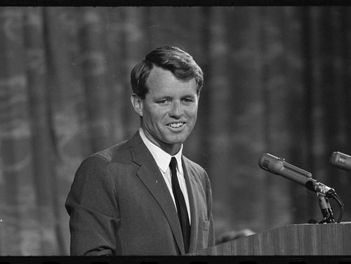 Robert F. Kennedy, Aug. 19, 1964 (Library of Congress)