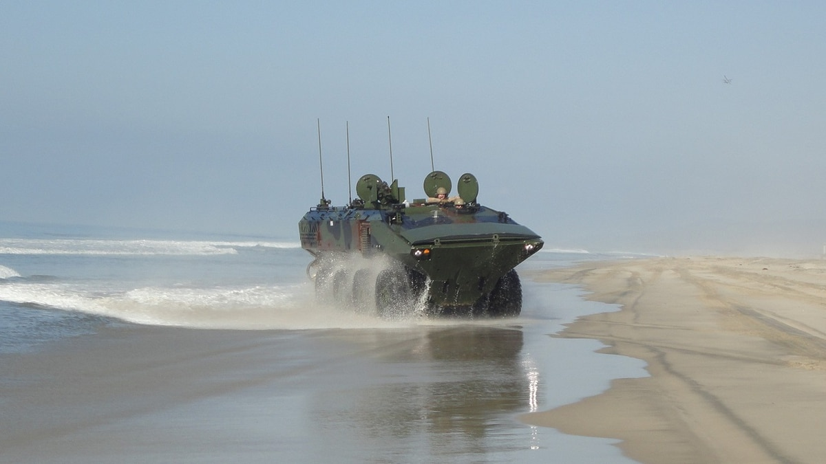 Corps Approves Full Rate Production For New Amphibious Combat Vehicle