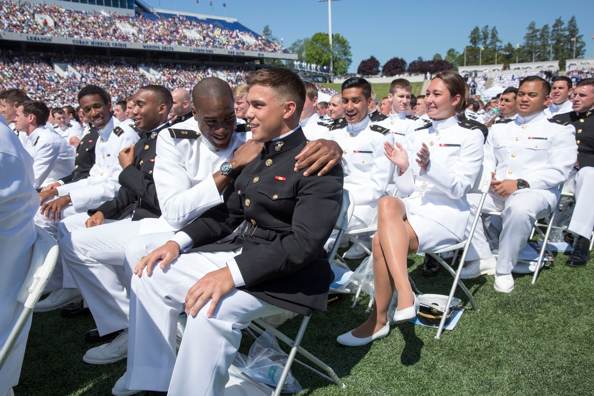 what to wear to naval academy graduation