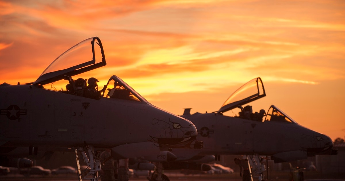 Warthog Replacement Anyone Former Air Force Officers Say