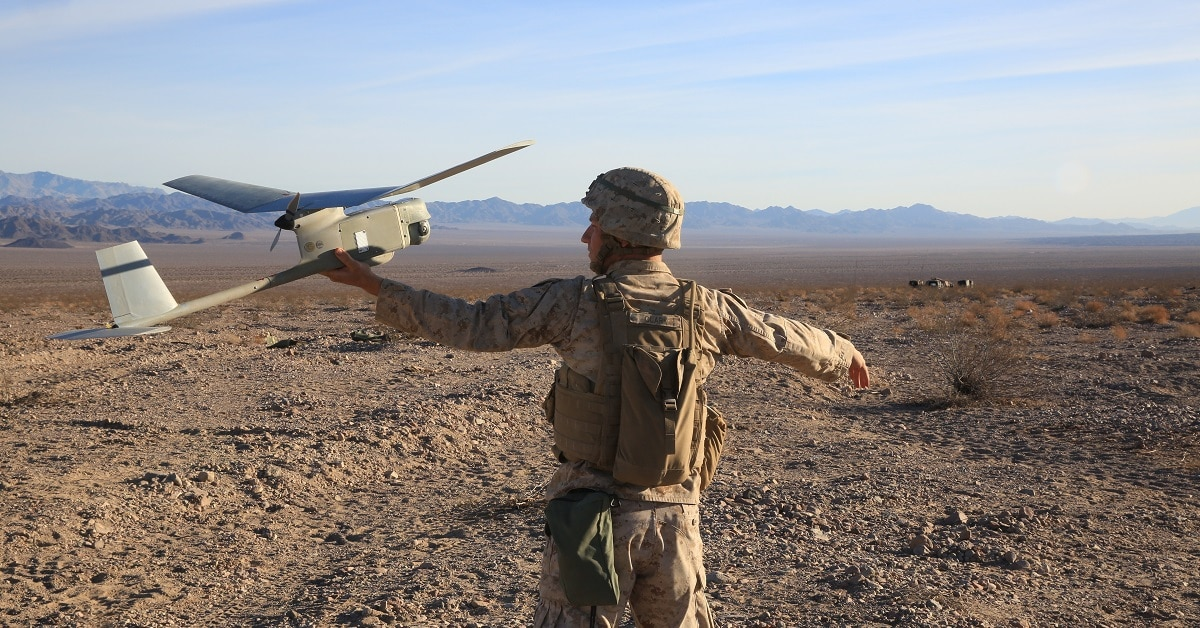 The Corps wants 15 suicide drones swarming from the hands of