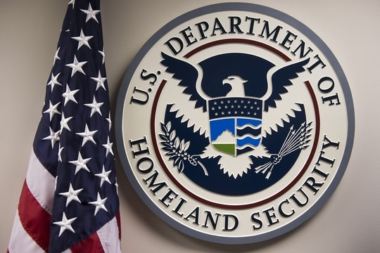 The Department of Homeland Security wants to create a new cybersecurity group for coordinate internal cyber efforts. (SAUL LOEB/AFP/Getty Images)