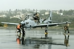 US delivers first A-29 Super Tucano aircraft to the Lebanese Army