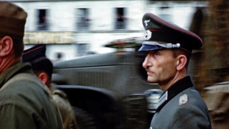 Rare color footage brings D-Day memories alive, 75 years on