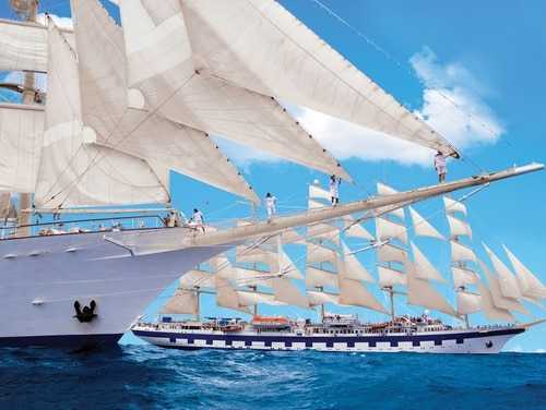 Star Clippers always offers military discounts, but around certain holidays such as Veterans Day they sweeten the deal. (Courtesy Star Clippers )