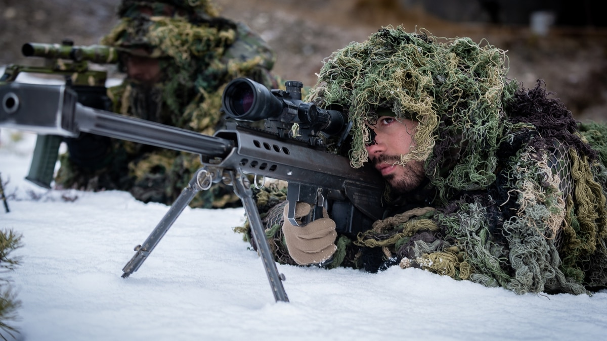 Indian snipers will be using these two new rifles to guard