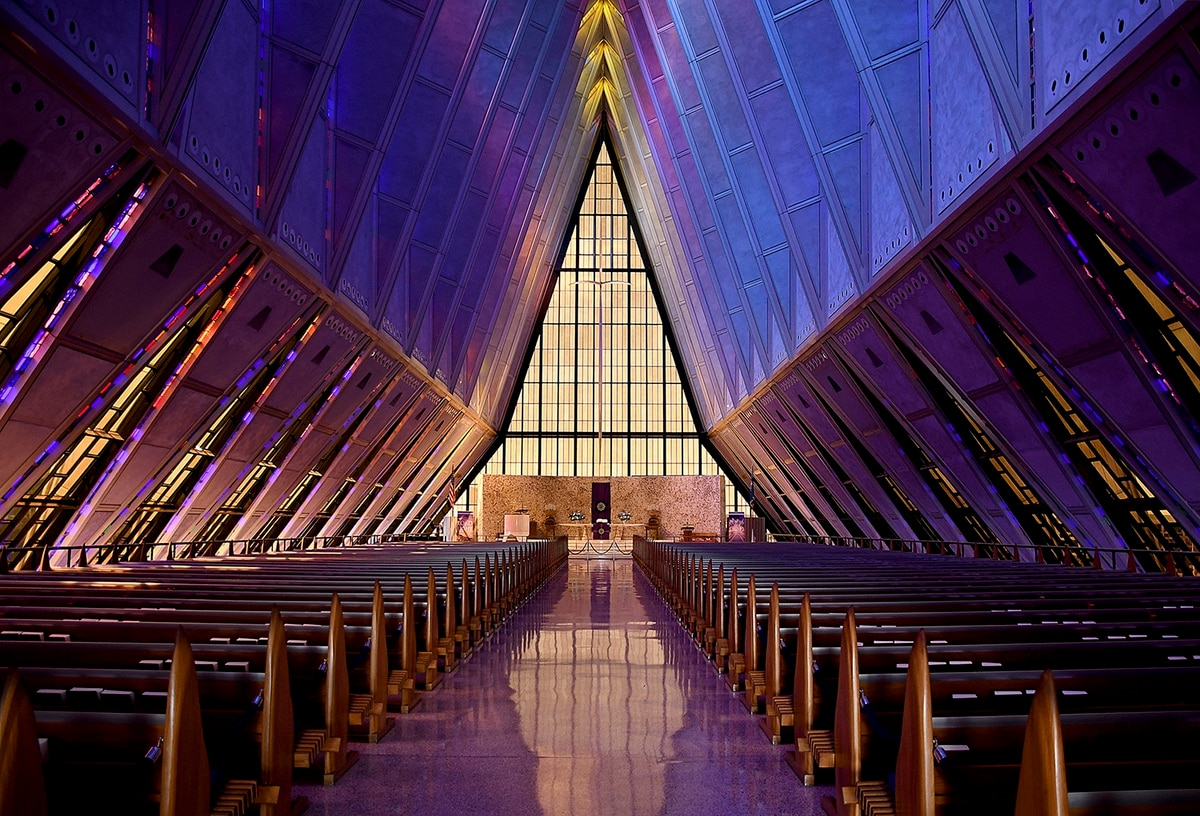 New Air Force Academy building an architectural marvel – The