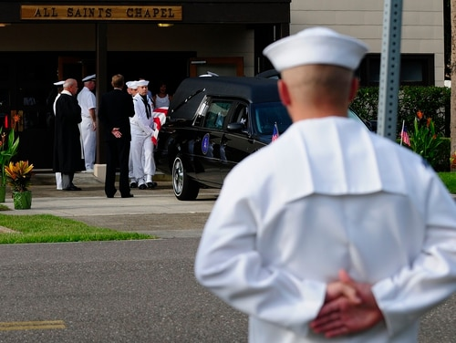 Military families for years have been dealing with unexpected loss and grief, and now much of the rest of America has been confronted with the same problems because of the ongoing coronavirus pandemic. (Chief Petty Officer Anthony Casullo/Navy)